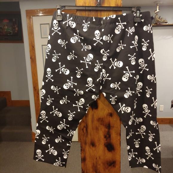 Women's plus size Capri leggings W#911